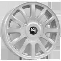 КиК KC578 6x15 4x98 ET 35 Dia 58.5 (серебро)