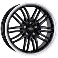 Alutec BlackSun 8.5x18 5x120 ET 35 Dia 72.6 (racing black lip polished)