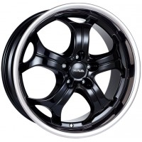 Alutec Boost 9x20 5x120 ET 15 Dia 76.1 (diamond black steel lip)