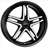 Alutec Poison Cup 9x18 5x114.3 ET 40 Dia 70.1 (Diamant Black Front Polished)