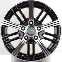 Nitro Y294 5,5x14 4x100 ET 45 (Черный с полированной лицевой поверхностью)