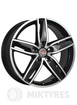 Диски LegeArtis Concept VW535 8x18 5x112 ET 45 Dia 57,1 (Черный с полированной лицевой поверхностью)