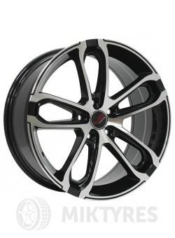 Диски LegeArtis Concept A518 8x18 5x112 ET 39 Dia 66.6 (Черный с полированной лицевой поверхностью)