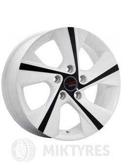 Диски LegeArtis Concept KI509 7x17 5x114,3 ET 48 Dia 67,1 (Белый с черными элементами)