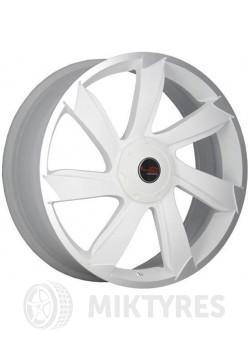 Диски LegeArtis Concept MZ505 7x17 5x114.3 ET 50 Dia 67.1 (Белый матовый с полированным ободом)