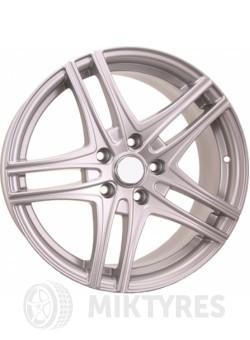 Диски Neo 717 7,5x17 5x114,3 ET 45 Dia 60,1 (silver)